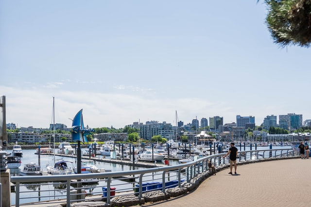 Yaletown Harbour Seawall at Vancouver
