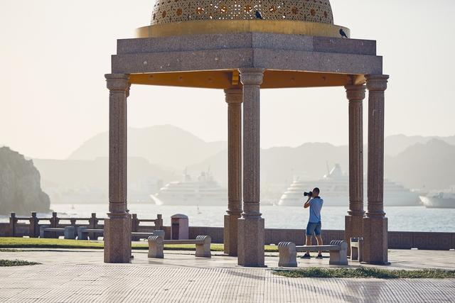 Mutrah Corniche in Muscat, Sultanate of Oman.